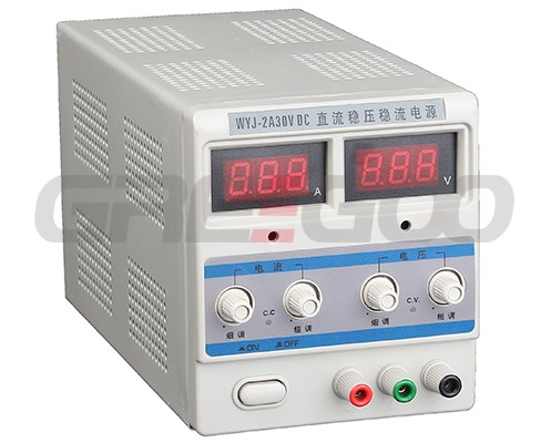 DC regulated power supply single LED output