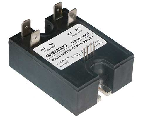 Dual solid state relays