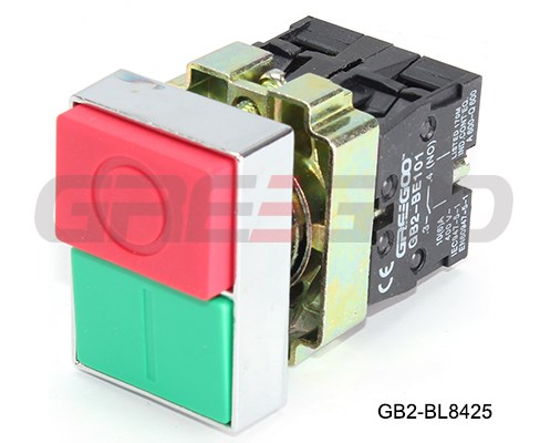 GB2-BL/BW double head push button