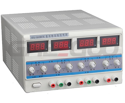 DC regulated power supply dual LED output